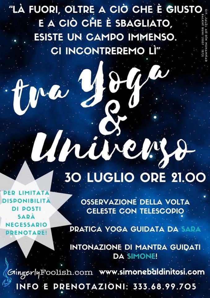 Tra Yoga e Universo
