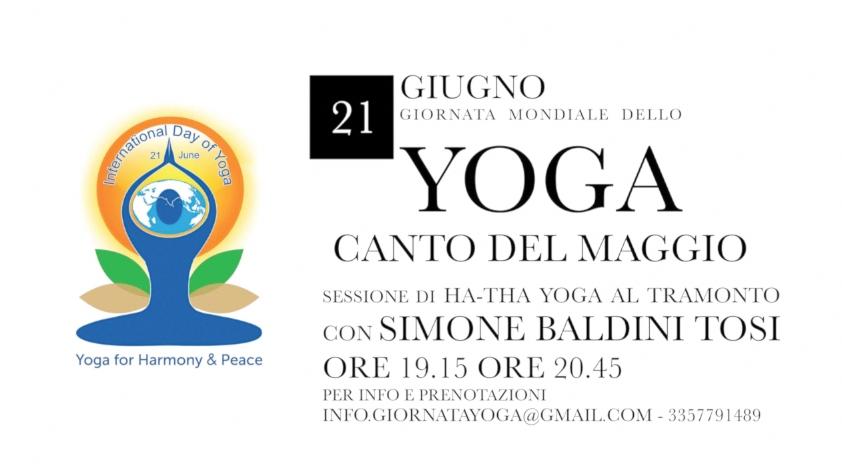 21 giugno Giornata mondiale per lo Yoga